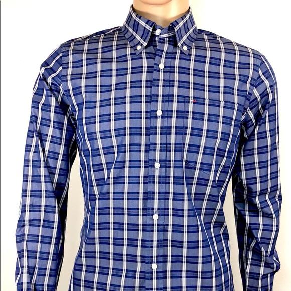 90f67e958 TOMMY HILFIGER Men's Shirt SZ S/P 80's 2 Ply Class.  M_5a7b3d6d84b5ce1bf37e5739